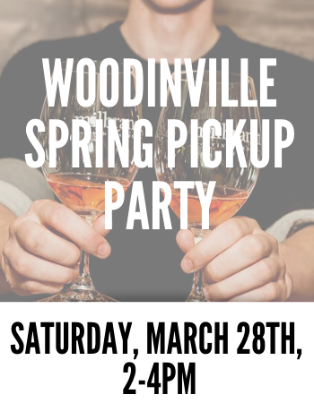 Woodinville Spring Pickup Saturday 2 PM