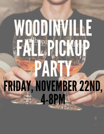 Woodinville Fall Pickup Party Ticket Friday