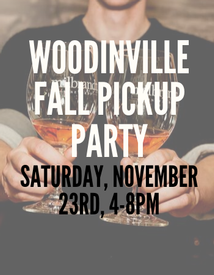 Woodinville Fall Pickup Party Ticket Saturday