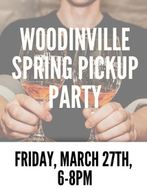 Woodinville Spring Pickup Friday 6 PM