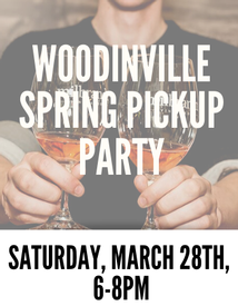 Woodinville Spring Pickup Saturday 6 PM